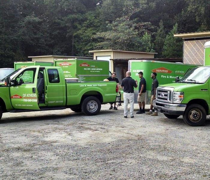 Mornings at SERVPRO of Athens